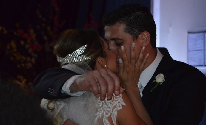 Casamento Dani Lins e Sidão Pinda (Foto: Silas Pereira)