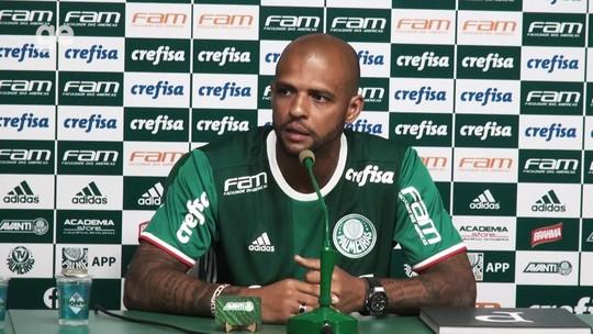 Top 10: veja as melhores respostas de Felipe Melo na entrevista no Palmeiras