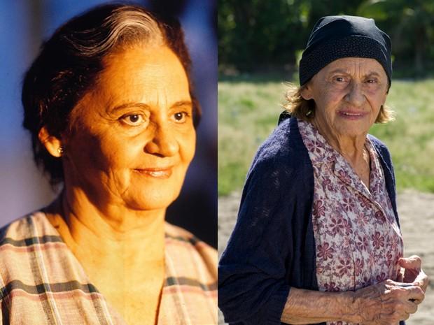 Laura Cardoso era a mãe das gêmeas, mas preferia Raquel (Foto: Vídeo Show / Gshow)