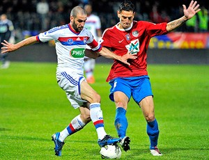 Lyon x Ajaccio (Foto: Divulgação / Site oficial do Lyon)