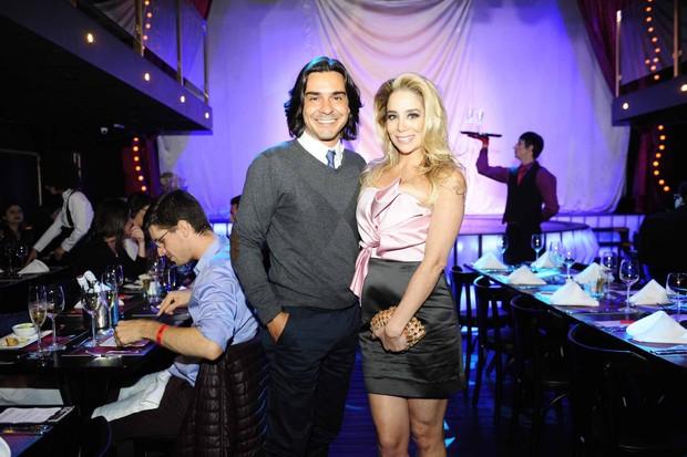 André Gonçalves  e Danielle Winits (Foto: Samuel Chaves/Brazil News)