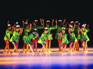 Apresentação da Escola Livre de Dança (Foto: divulgação - Prefeitura de Santos)