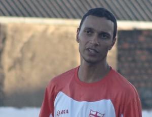 Ronald Braga, auxiliar de preparação física do CRB (Foto: Denison Roma / Globoesporte.com)
