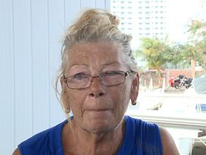 Maria Rawi, 69, esposa de holandês assassinado em veleiro em São Luís (Foto: Reprodução / TV Mirante)