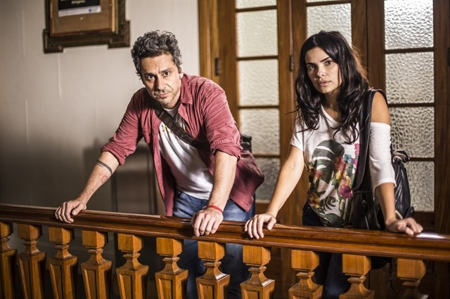 Alexandre Nero e Vanessa Giácomo (Foto: Aline Massuca)
