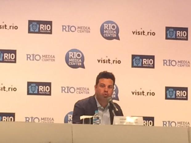 Ministro Picciani diz que esporte de inclusão será prioridade da pasta (Foto: Alba Valéria Mendonça/G1)