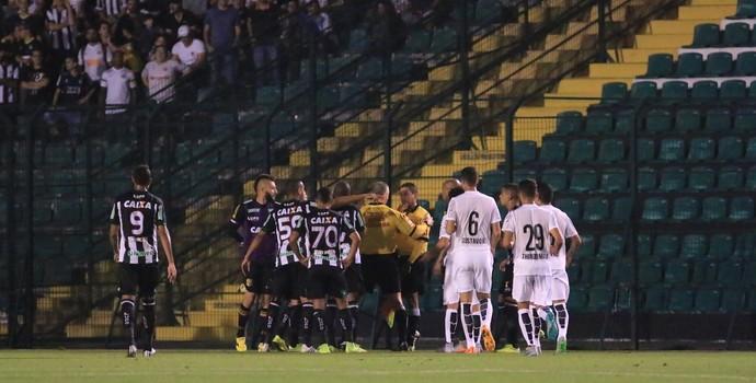 Figueirense x Santos (Foto: Luiz Henrique/Figueirense FC)