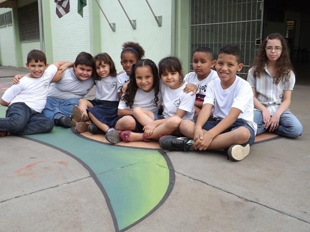 Cinco meninas e quatro meninos foram selecionados em Bauru na primeira etapa (Foto: Alan Schneider/G1)