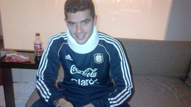 Fernando Gago, Argentina (Foto: Reprodução / Twitter)