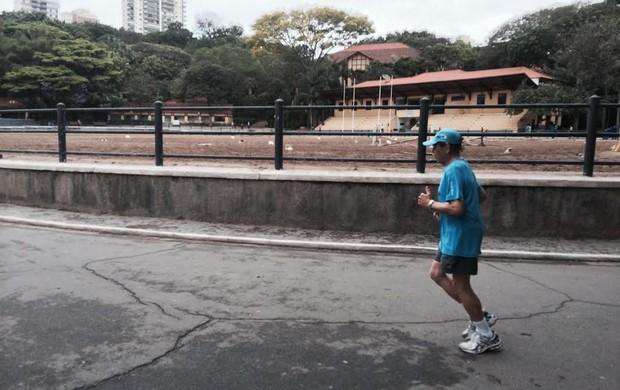 Seu Juraci- eu atleta (Foto: Guilherme Costa)
