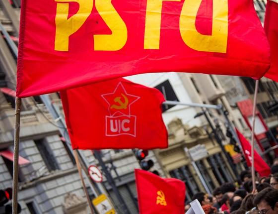 """""""Fora Temer"""" em plano de governo municipal do PSTU (Foto: Romerito Pontes/Flickr)"""