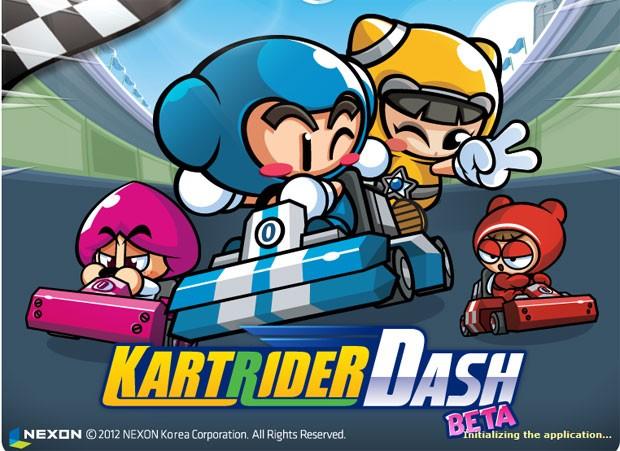 'KartRider Dash' é sucesso na Coreia do Sul (Foto: Divulgação)
