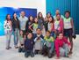 Alunos visitam a Inter TV Alto Litoral e assistem RJ1 no estúdio
