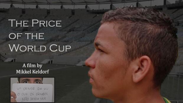 Cena do documentário 'O preço da Copa', do jornalista dinamarquês Mikkel Keldorf, que causou polêmica ao desistir de cobrir a Copa do Mundo (Foto: Divulgação)