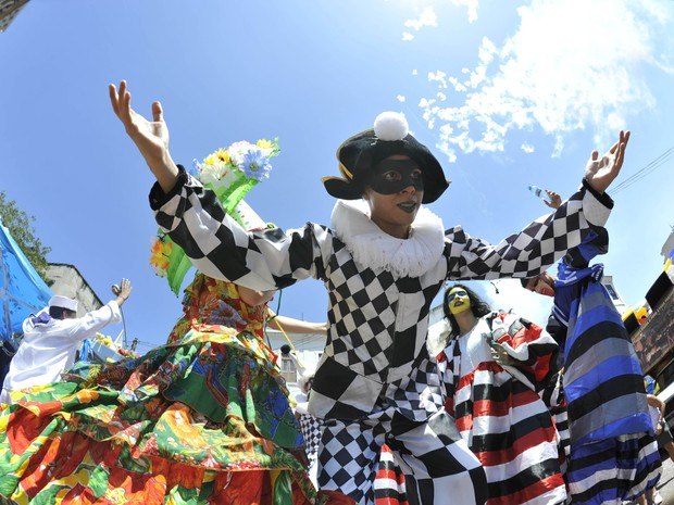 Rio de Janeiro Bloco Escravos da Mauá ensaia em Copacabana, no Quiosque da Globo (Foto: Publius Vergilius/ Riotur)