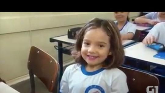 Resultado de imagem para Amando ser famosa', diz aluna que viralizou na web após entrevista à TV