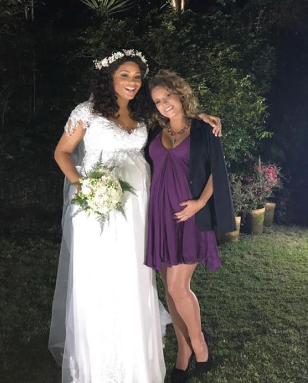 Juliana Alves e Maíra Charken (Foto: Reprodução/Instagram)