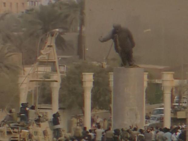 Al-Jabbouri, que teve mais de uma dúzia de parentes executados pelo regime de Saddam, diz que se arrepende (Foto: BBC)