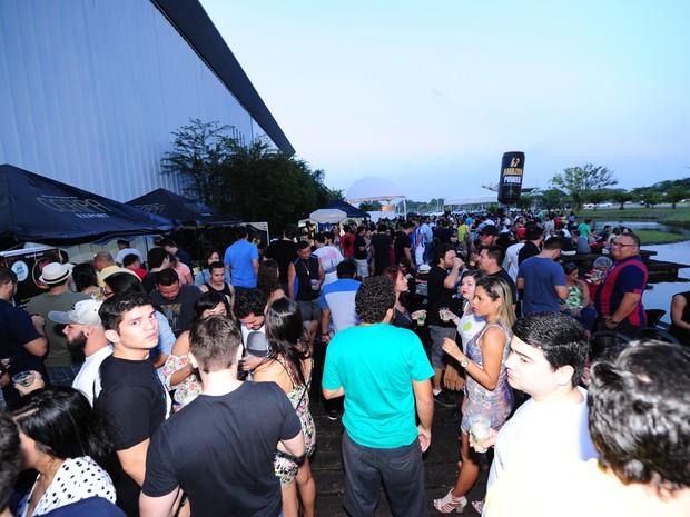 Festival Amazônico de Cerveja reuniu 7 mil pessoas em 2015 - em 2016, a expectativa é que este número aumente 25% (Foto: Leo Santana / Divulgação)