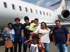 Belle Silva mostra chegada de família à França junto com David Luiz