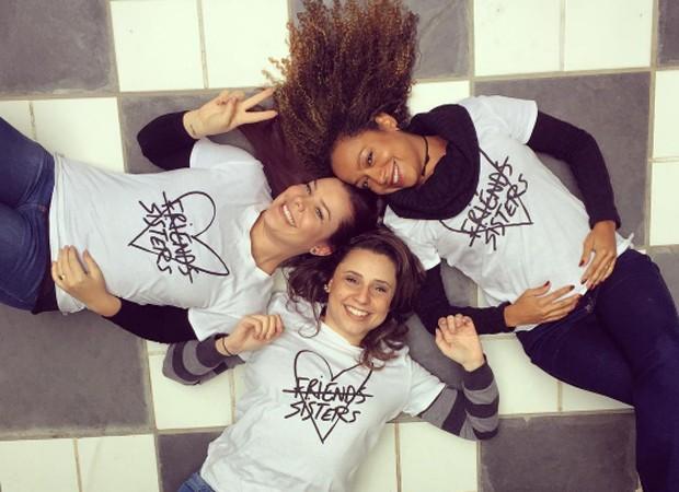 Fernanda Souza, Francis Helena Cozta e Aretha Oliveira (Foto: Reprodução/Instagram)