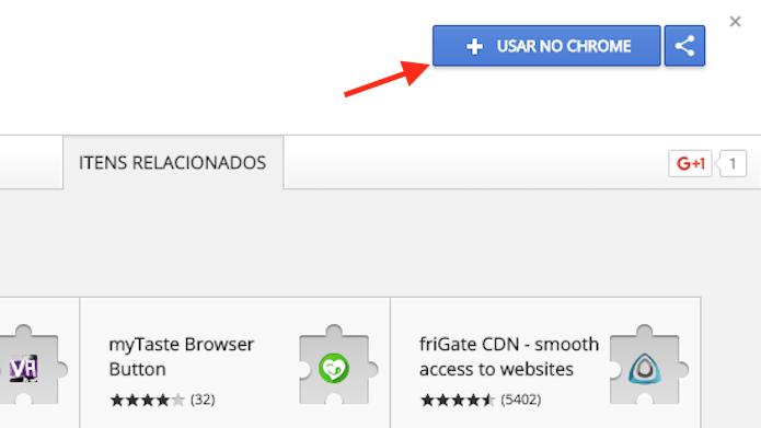 Tela para preparar o download da extensão do Chrome Grupos para WhatsApp (Foto: Reprodução/Marvin Costa)
