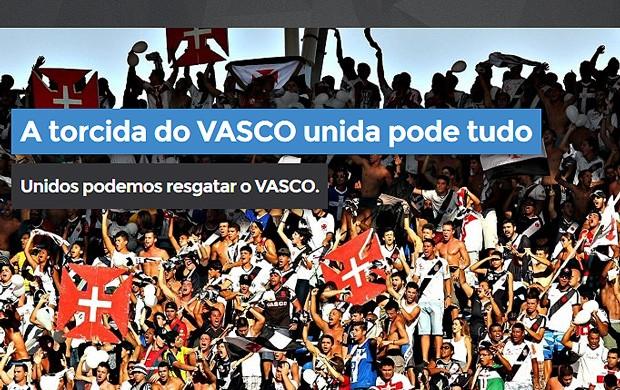 campanha Vasco torcida 100 mil (Foto: Reprodução)