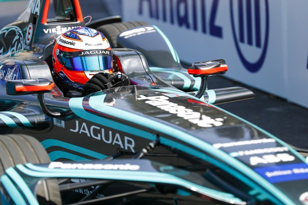 2017/2018 FIA Formula E ChampionshipRound 4 - Santiago ePrixSantiago, ChileSaturday 03 February 2018Mitch Evans (NZL), Panasonic Jaguar Racing, Jaguar I-Type II. Photo: Sam Bloxham/LAT/Formula Eref: Digital Image _J6I3640 (Foto:  )