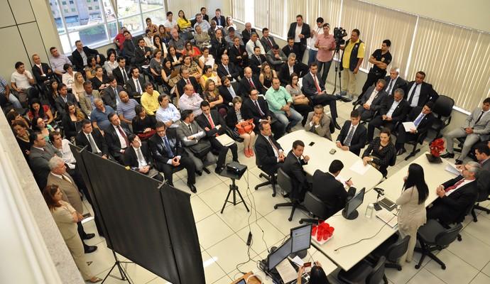 Audiência pública Guarani Justiça do Trabalho Campinas (Foto: Camila Yano / TRT 15ª Região)