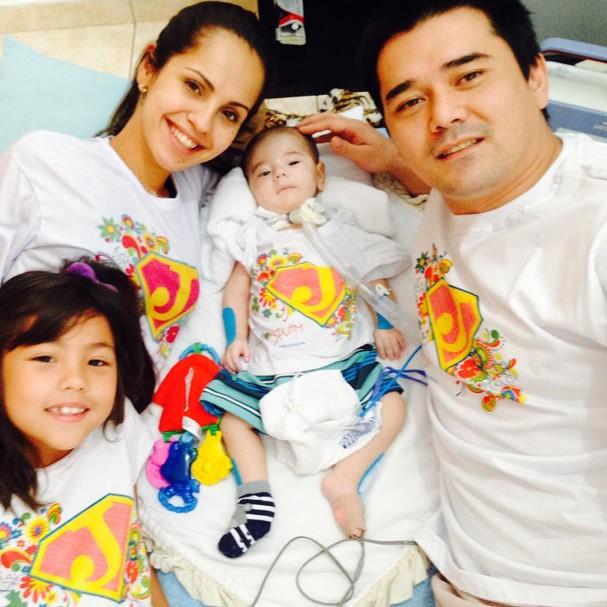A família do Joaquim (Foto: Reprodução Instagram)
