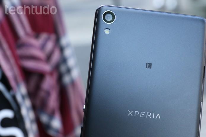 Xperia XA (Foto: Ana Marques/TechTudo)