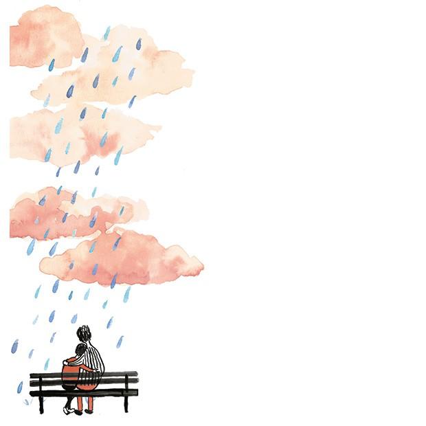 Homem não chora por Leo Jaime (Foto: Ilustração: Luísa Amoroso)
