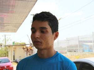 Ramdas Souza resolveu não sair com os amigos porque tinha trabalho no dia seguinte (Foto: Adneison Severiano/G1 AM)