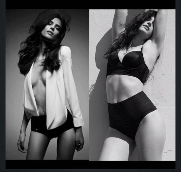 Nathalia antes e depois: ela chegou a pesar 48 kg para trabalhar como modelo (Foto: Arquivo pessoal)