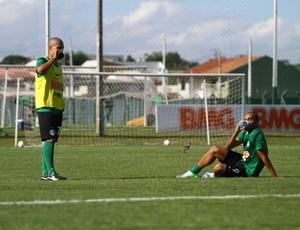 Alex e Deivid no treino do Coritiba (Foto: Divulgação / Site oficial do Coritiba)