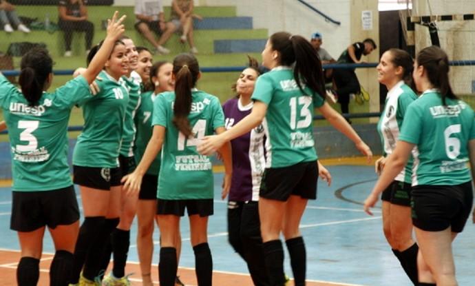 Atlética Unesp, Presidente Prudente, futsal feminino, Copa Unesp (Foto: Rogério Mative / Atlética Unesp, Divulgação)