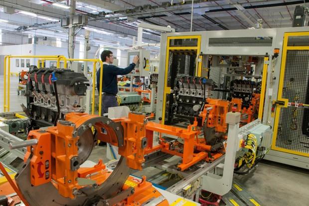 Fábrica de motores da GM em Joinville (SC) (Foto: Divulgação)