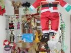 Bazar natalino oferece opções de presentes em Itaquaquecetuba