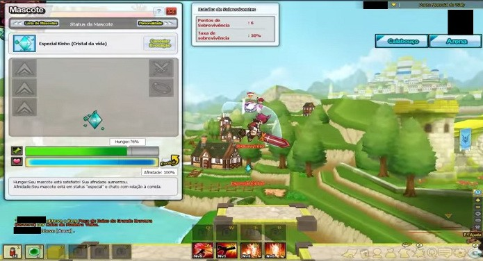 Upar os mascotes irá ajudá-lo a combater inimigos mais fortes (Foto: Reprodução)
