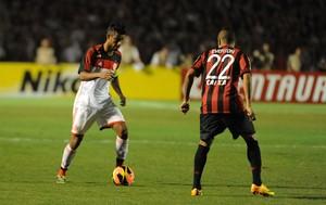 Leo Moura Flamengo x Atlético-PR (Foto: Alexandre Vidal / Flaimagem)