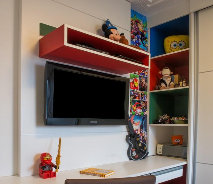 Adesivos personalizados para o quarto das crianças dão vida ao ambiente (Foto: Divulgação)