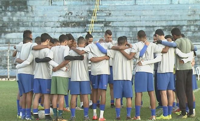 Matonense treino (Foto: Reprodução EPTV)