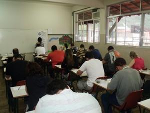 O concurso teve 6.655 inscritos (Foto: Gilmar Marques/Ascom Cantagalo)