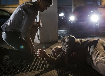 Romero desmaia após briga