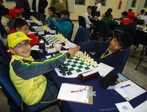 Vitor Amorim Xadrez Araxá 11 anos (Foto: Vitor Amorim/Arquivo Pessoal)