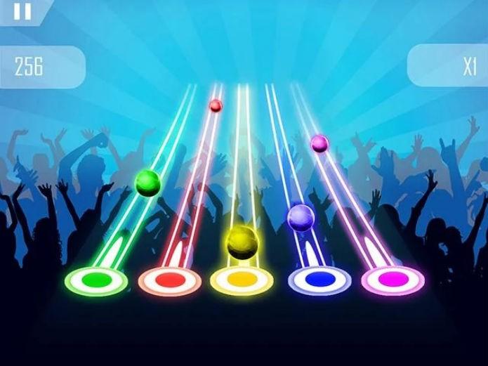 Guitar Heroes: Clone de Guitar Hero para celulares (Foto: Divulgação)