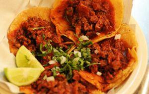 Tacos al pastor'