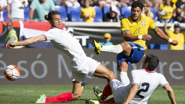 20a0d61607 Brasil x Costa Rica - Amistosos 2015 - globoesporte.com