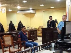 Um dos acusados de executar uma vítima no oeste do Pará vai a julgamento nesta quinta-feira (25), no Fórum Criminal, em Belém. (Foto: Divulgação/TJPA)