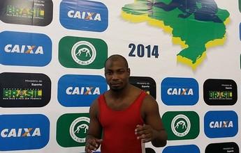 Ex-BBB se inscreve no Brasileiro e é vice-campeão na luta greco-romana